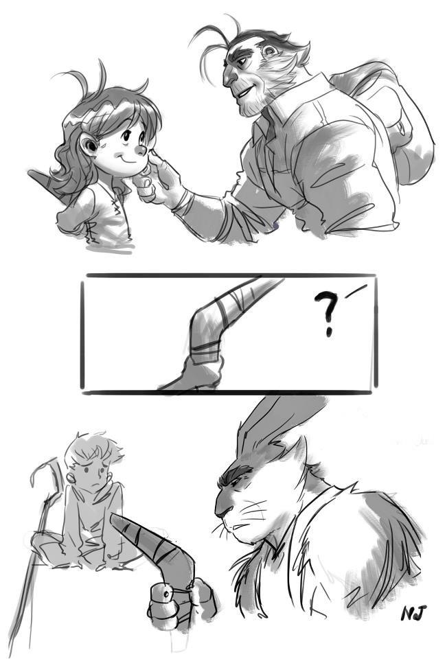 [DreamWorks] Les Cinq Légendes (2012) - Page 39 Buny_b10