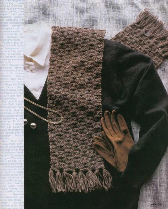Áo len, găng tay, mũ cho nam 3011