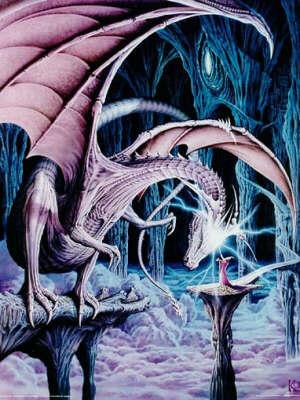 Un bonjour de miroir blanc de cristal Dragon12