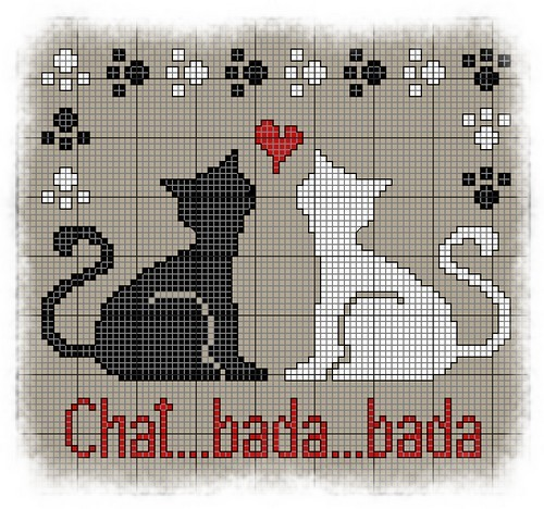 chat bada... Grille10