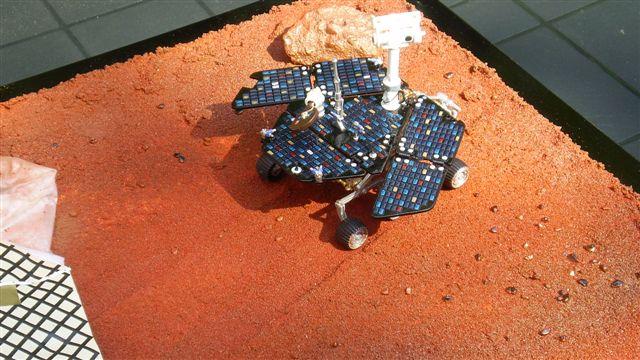 DIORAMA SPIRIT MARS EXPLORER [ 1/18 SUN STAR ] Afbeel15