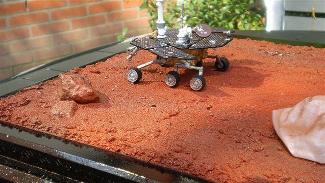 DIORAMA SPIRIT MARS EXPLORER [ 1/18 SUN STAR ] Afbeel17