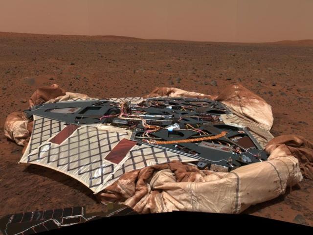 DIORAMA SPIRIT MARS EXPLORER [ 1/18 SUN STAR ] Mars-s10
