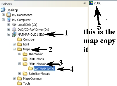 NATMAP Digital Maps Dvd1-210
