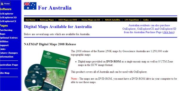 NATMAP Digital Maps Image510