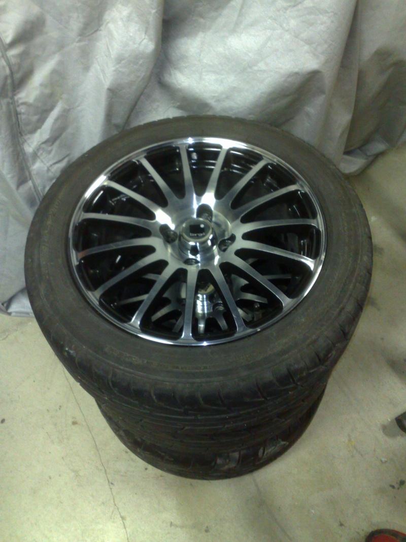 "Jantes Targa 15"" + pneus yokohama 06112011"