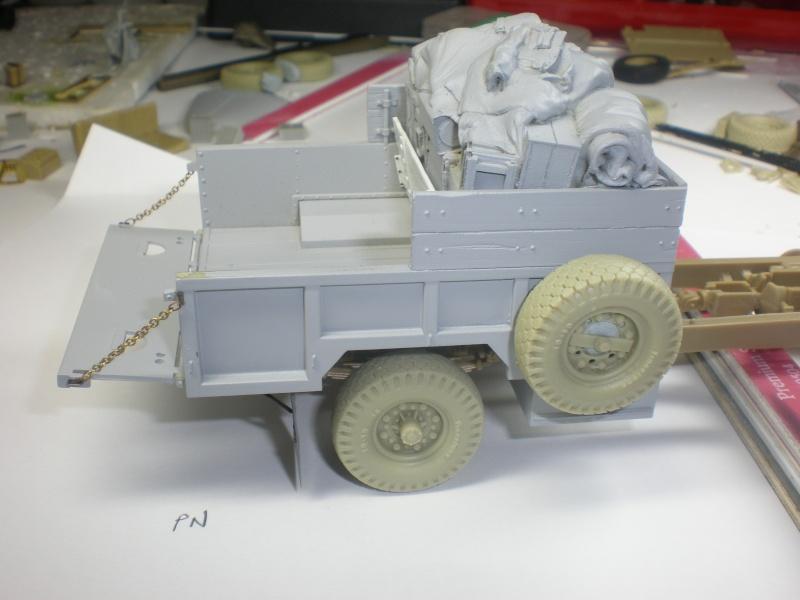 LRDG Chevrolet 30CWT with Breda Bed310