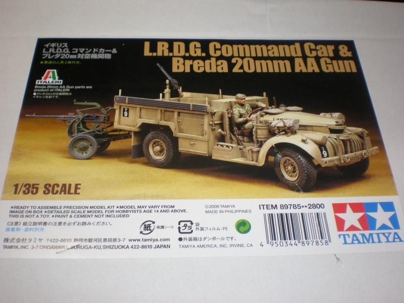 LRDG Chevrolet 30CWT with Breda P2240010