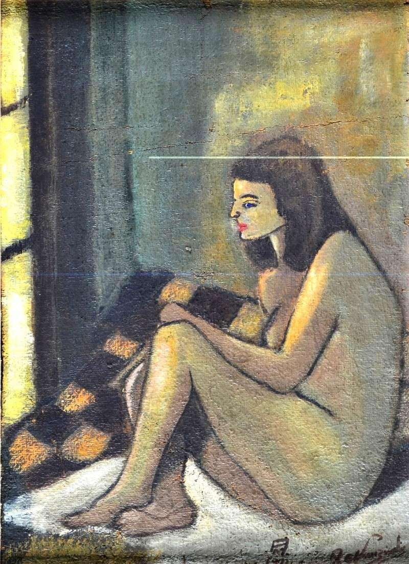 Opera giovanile del maestro dipinta nel 1971. Anteprima mai vista prima. An072-10