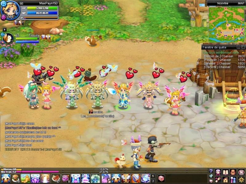 Screen de la création de la famille. 20081210