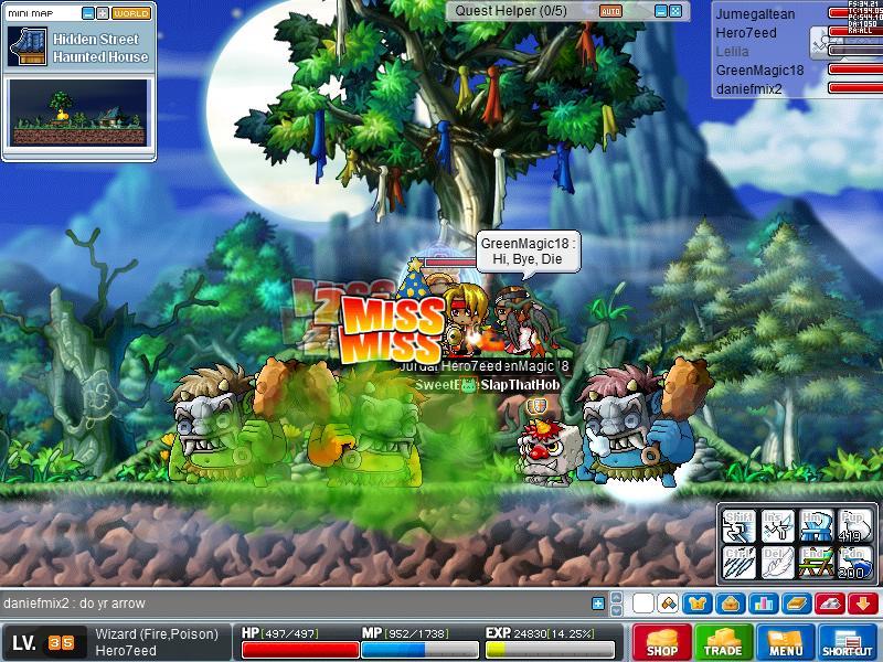 7eed's Boss Challenge Maple011