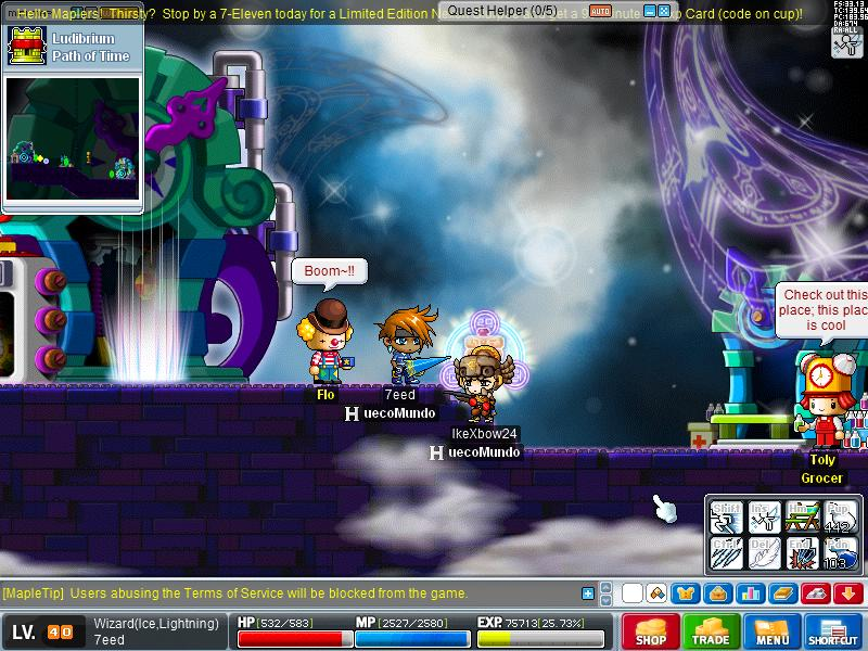 The Troublesome Adventures of 7eed Maple017