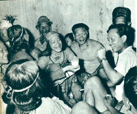 Foto's Kaat, Indonesië 50-er jaren Borneo10