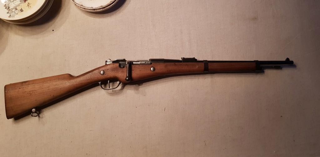 carabine BERTHIER 1890  20200111