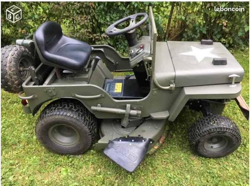 modification d'un tracteur tondeuse Tr310