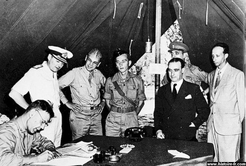 8 septembre 1943,la flotte italienne se rend aux Alliés Armist10