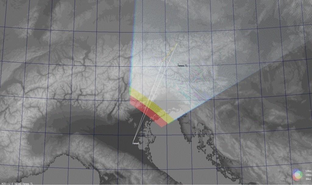 Fireball 2011.02.18_18.23.42 ± 1 U.T. Bolide24