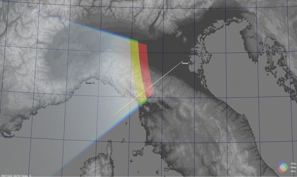 Fireball  2011.02.22_00.27.54 ± 1 U.T. Bolide25