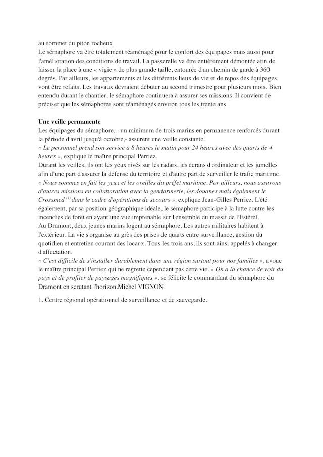SÉMAPHORE - DRAMONT (VAR) Dramon11