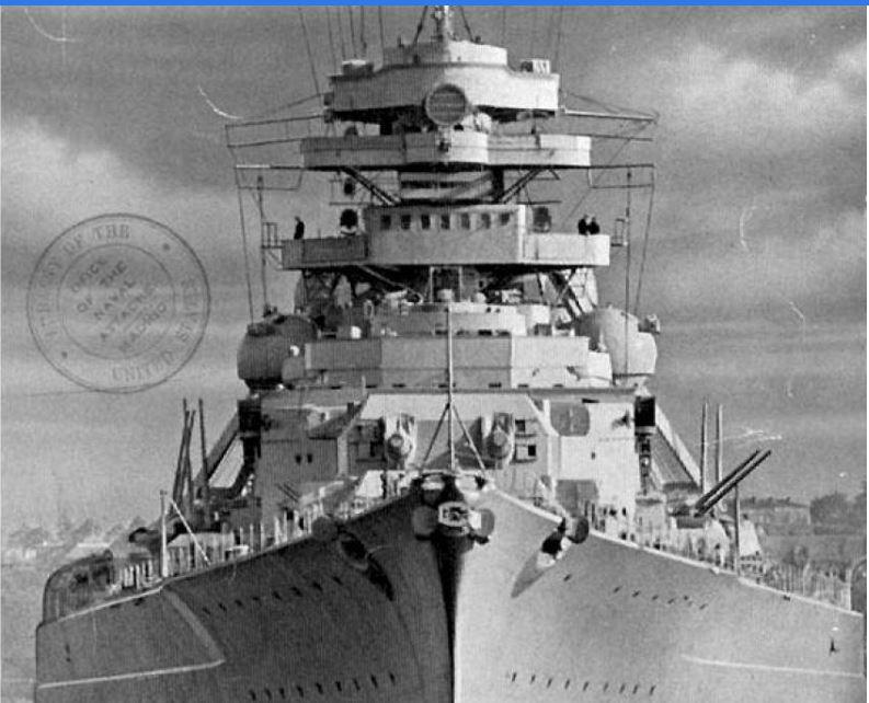 Le Bismarck amati 1:200 Bismar12