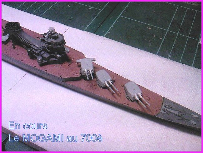 Mogami 1/350 Tamiya + kit Flyhawk et bricoles - Page 3 Mogami10