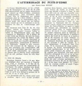 L'ATTERRISSAGE DU PUITS-D'EDME - Nuit du 16 au 17 août 1970 - par Henry-Jean BESSET  - Puits_11