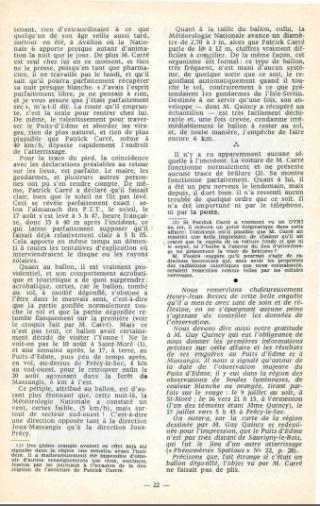 L'ATTERRISSAGE DU PUITS-D'EDME - Nuit du 16 au 17 août 1970 - par Henry-Jean BESSET  - Puits_15