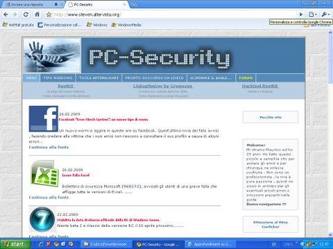 Browser e Sicurezza Chiave11