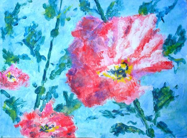 Nature morte, Fleurs  C-fond10
