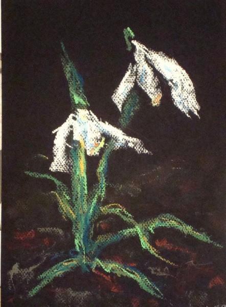 Nature morte, Fleurs  Perce-10