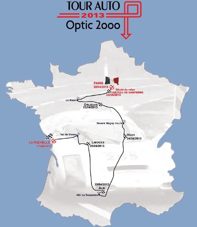Le Tour Auto  2013 en Porsche 906 Tourau10
