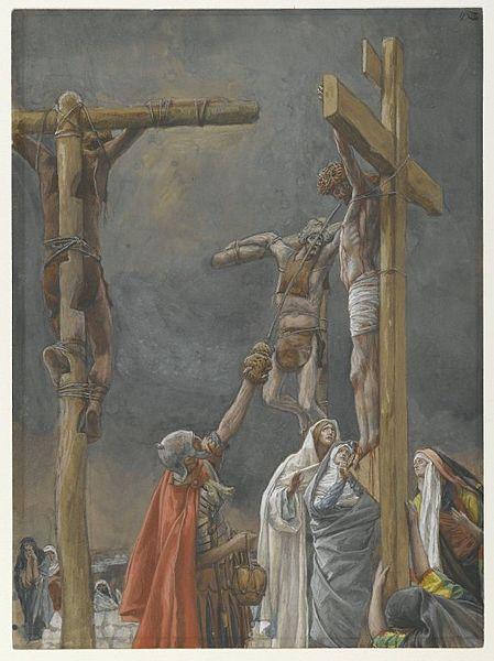 La Passion du Christ selon le peintre Tissot. 449px-10