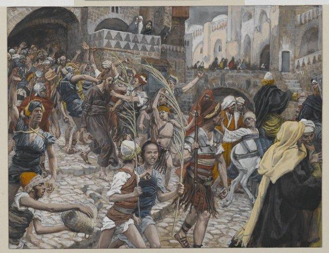 La Passion du Christ selon le peintre Tissot. Brookl10
