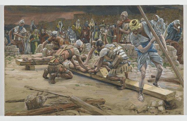 La Passion du Christ selon le peintre Tissot. Brookl11