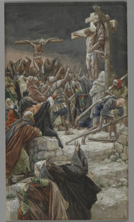La Passion du Christ selon le peintre Tissot. Brookl12