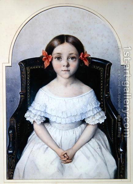 Mgr De Ségur, jeune homme, était artiste peintre. Mgr_lo10