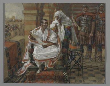 La Passion du Christ selon le peintre Tissot. Pp510