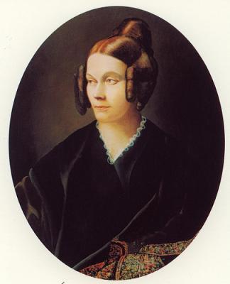 Mgr De Ségur, jeune homme, était artiste peintre. Sophie10