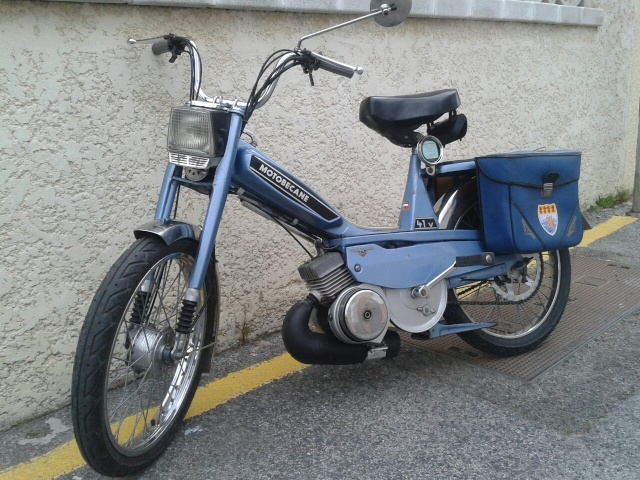 Motobécane 41VLC de 1978 et Solex 5000 de 1973 !!! 85855110