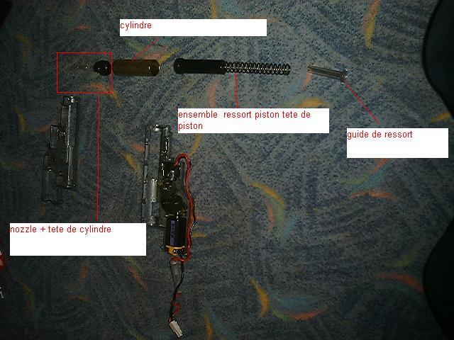 gearbox  démontage montage    sur GB fn2000  a adapter  pour vos repliques Dscf0010