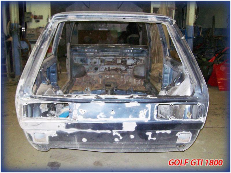 GOLF GTI MK1......450 000KMS BLEU HELLIOS EN COURS..... 2011-022