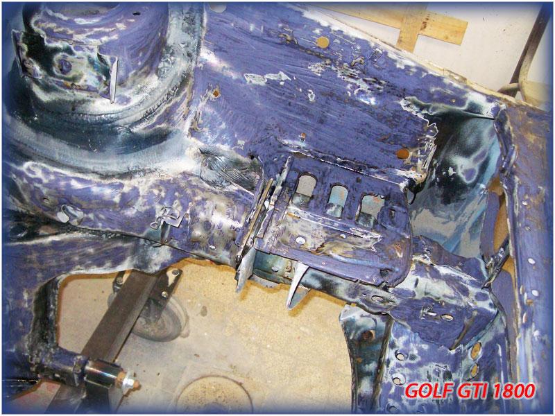 GOLF GTI MK1......450 000KMS BLEU HELLIOS EN COURS..... 2011-027