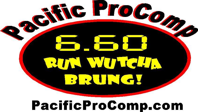 Top Eliminator West/ Pacific ProComp