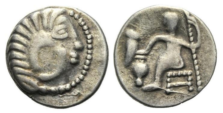 Dracma barbárico imitativo de Alejandro III (Tracia, siglo III-II a.C.) 114