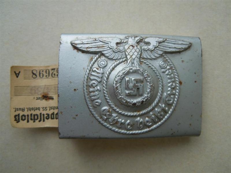 Boucle SS 1er type (acier), avec étiquette RZM - RZM 155/40  15540_10