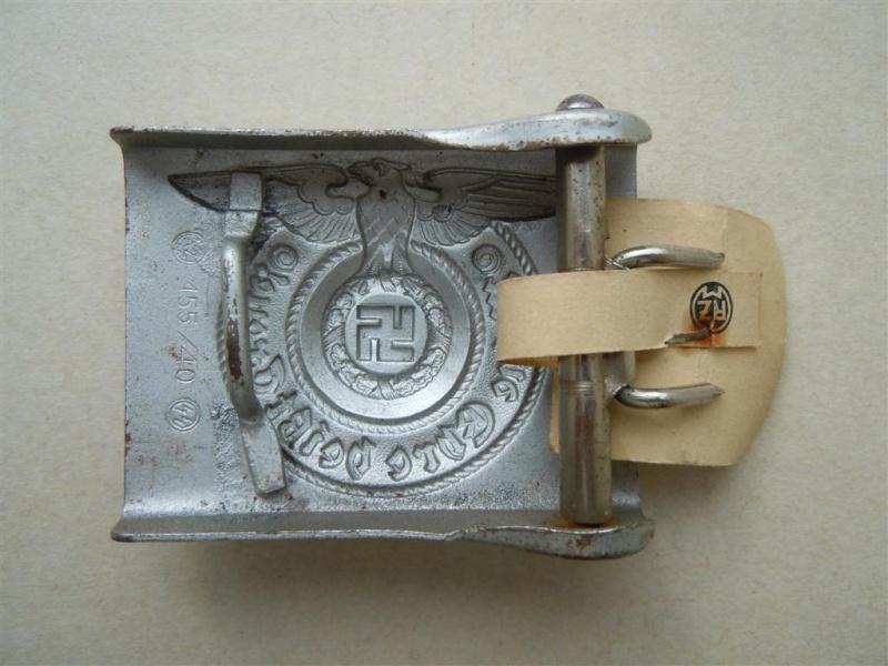 Boucle SS 1er type (acier), avec étiquette RZM - RZM 155/40  15540_11