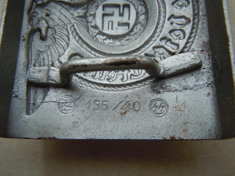 Boucle SS 1er type (acier), avec étiquette RZM - RZM 155/40  15540_12