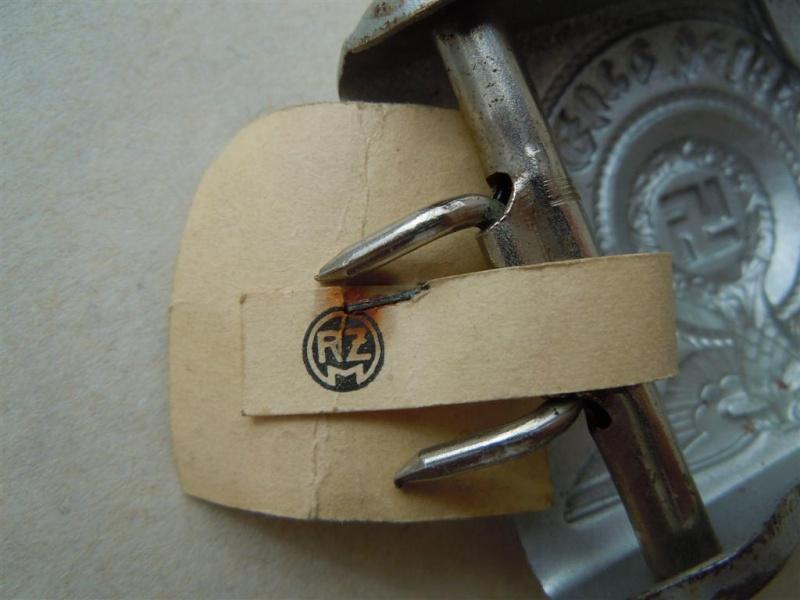 Boucle SS 1er type (acier), avec étiquette RZM - RZM 155/40  15540_13