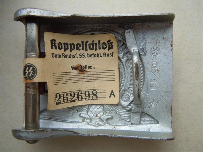 Boucle SS 1er type (acier), avec étiquette RZM - RZM 155/40  15540_14
