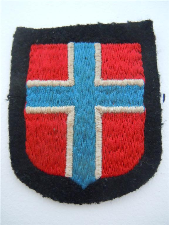 Insigne de nationalité :SS NORVEGIEN  Dscn0315